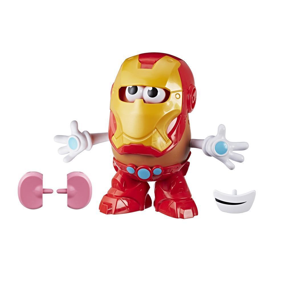 Mr. Potato Head Iron Man de Marvel clásico