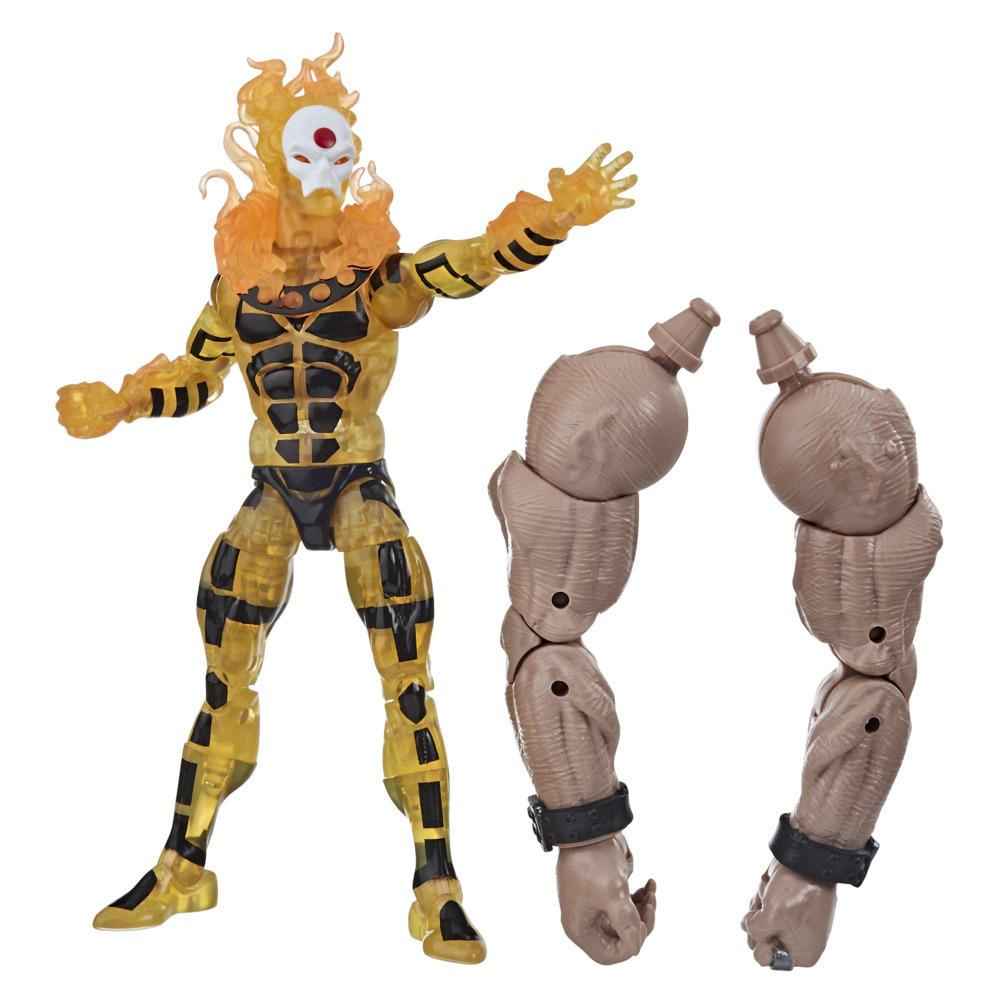 Hasbro Marvel Legends Series - Figura coleccionable de 15 cm de Sunfire de la Colección X-Men: Era de Apocalipsis