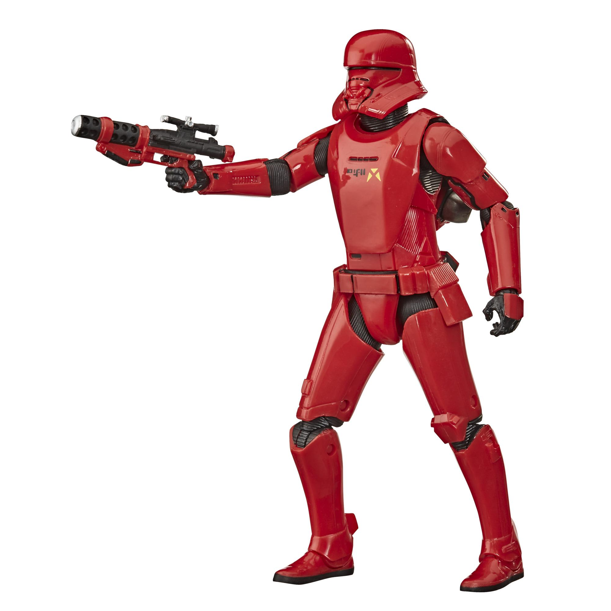 Star Wars The Black Series - Sith Jet Trooper - Figura de 15 cm de Star Wars: El ascenso de Skywalker