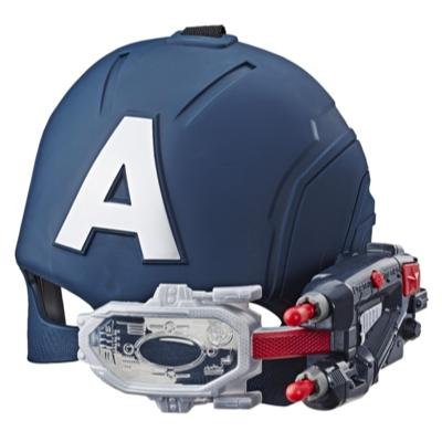 Marvel Avengers Casco con visor del Capitán América