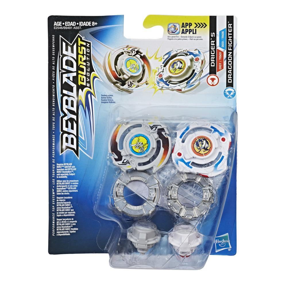 Beyblade Burst Evolution - Dúo - Driger S y Dragoon Fighter