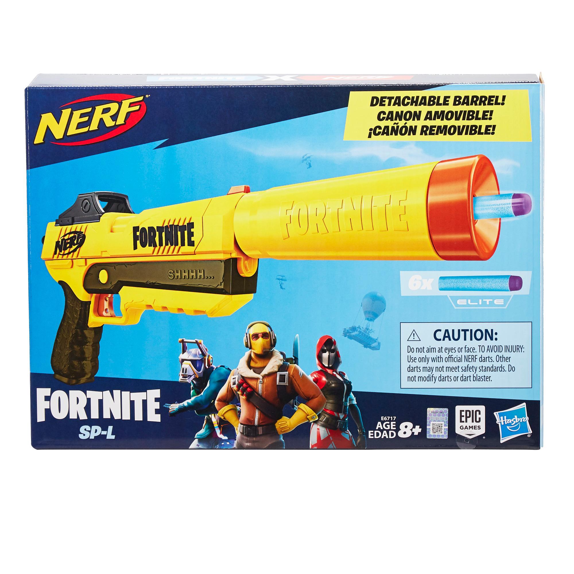 Lanzador Fortnite SP-L Nerf Elite