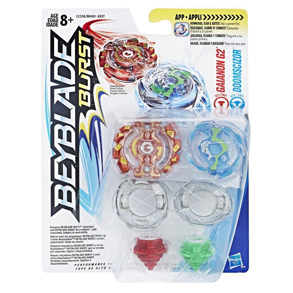 Beyblade Burst Evolution - Dúo - Gainon G2 y Doomscizor