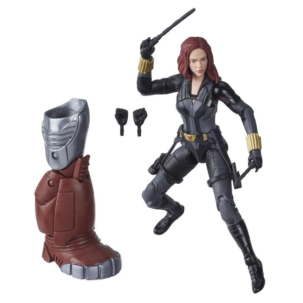 Hasbro Marvel Black Widow Legends Series - Figura coleccionable de 15 cm de Black Widow: Deadly Origin - Diseño de lujo - Con 6 accesorios - Edad 4+