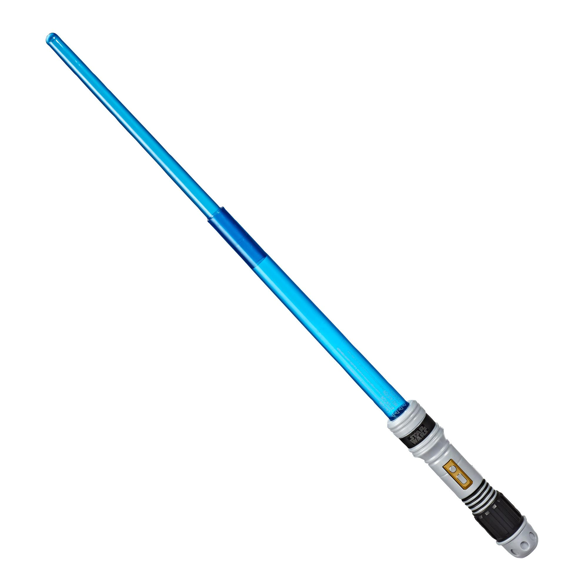 Star Wars - Sable de luz azul con hoja extensible luminosa - Nivel 1