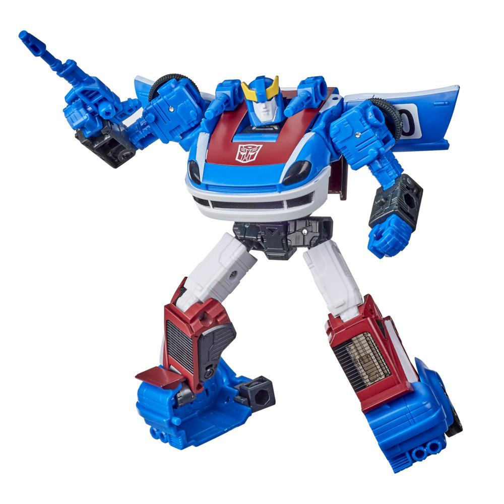 Juguetes Transformers Generations War for Cybertron: Earthrise - WFC-E20 Smokescreen clase de lujo - 14 cm