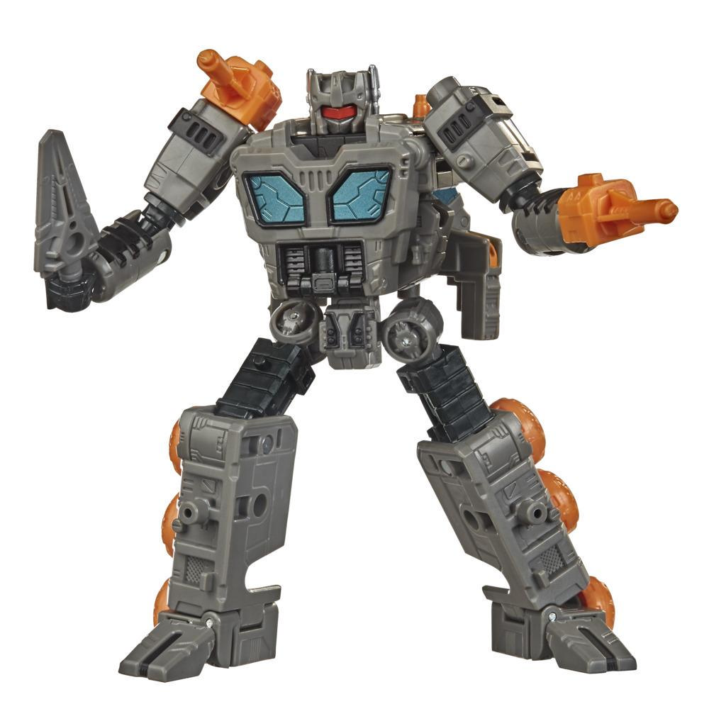 Transformers Generations War for Cybertron: Earthrise - Figura WFC-E35 Decepticon Fasttrack - 14 cm - Edad: 8+