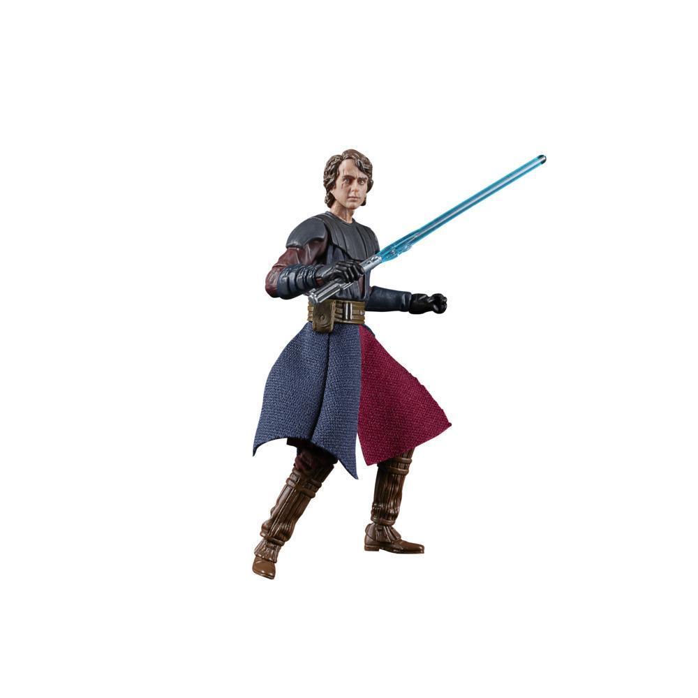 Star Wars La colección Vintage - Star Wars: The Clone Wars - Figura de Anakin Skywalker a escala de 9,5 cm - Edad: 4+