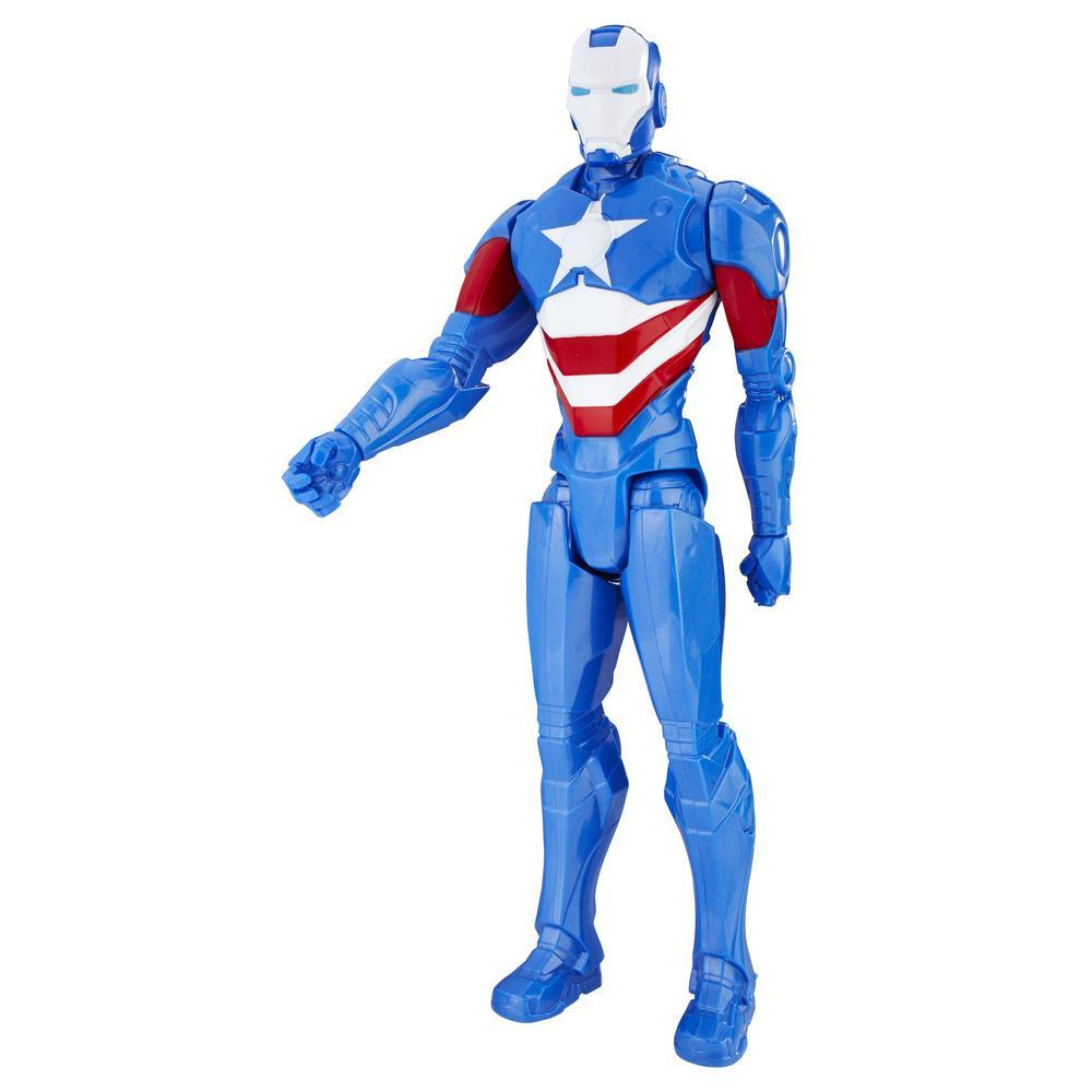 Marvel Titan Hero Series 12-inch Iron Patriot Figure