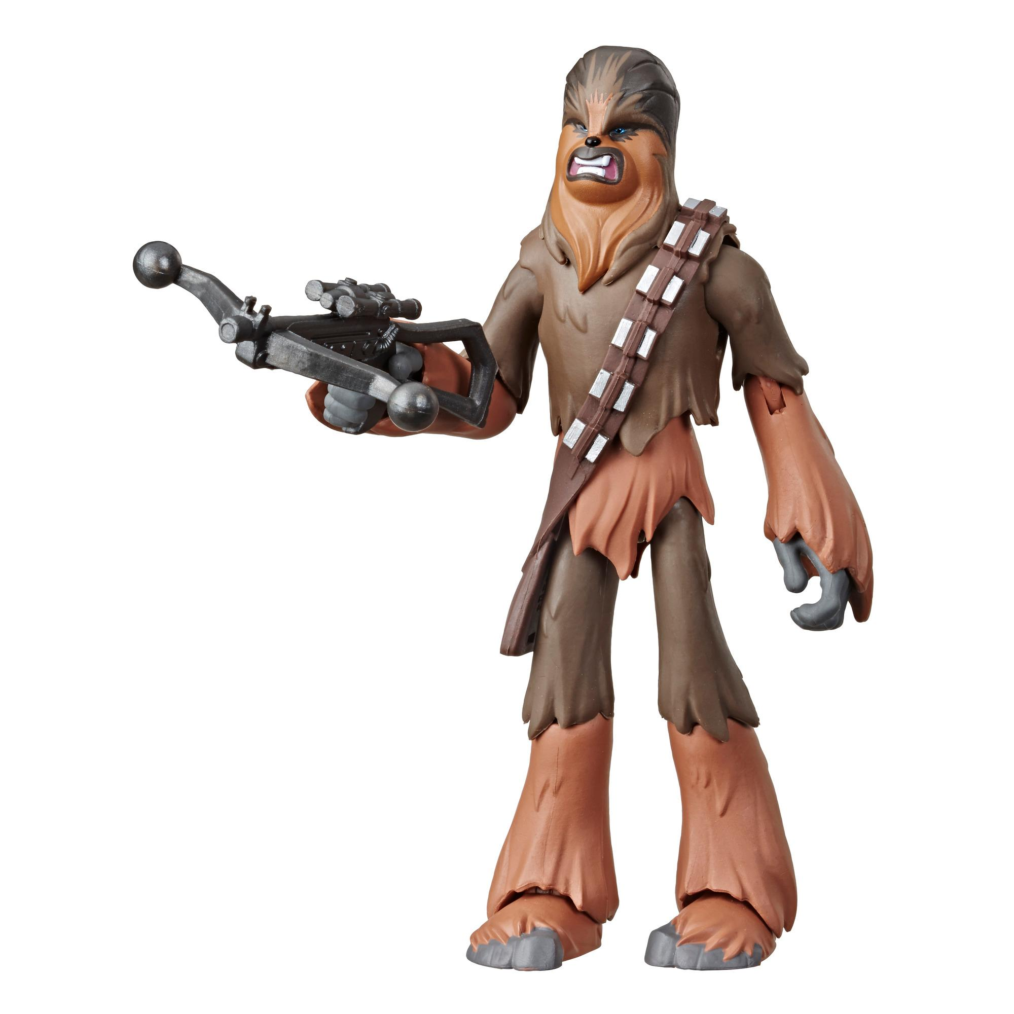Star Wars Galaxy of Adventures - Star Wars: The Rise of Skywalker - Figura de acción de Chewbacca de 12,5 cm - Juguete con divertido movimiento de acción