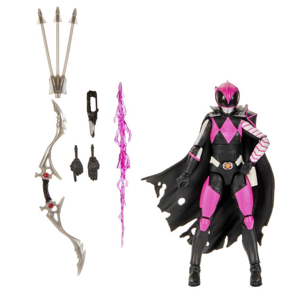 Power Rangers Lightning Collection - Ranger Slayer premium de 15 cm - Figura coleccionable con accesorios
