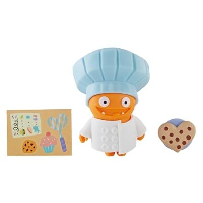 UglyDolls Disfraz sorpresa - Juguete Gran Chef Wage, figura y accesorios