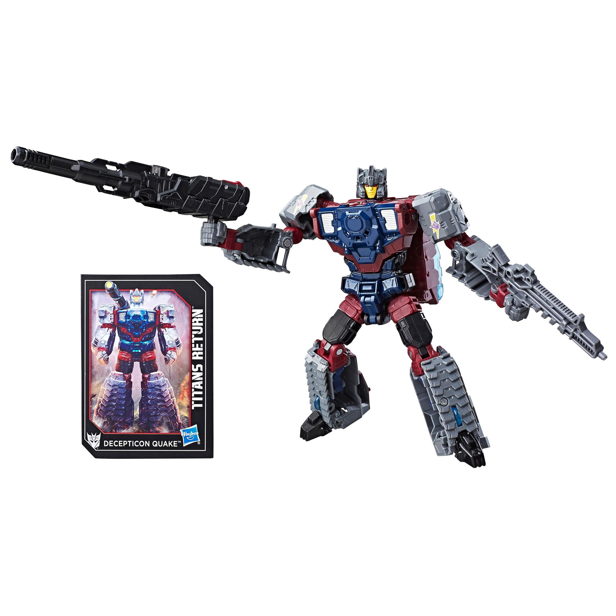 Transformers Generations Titans Return - Decepticon Quake y Chasm