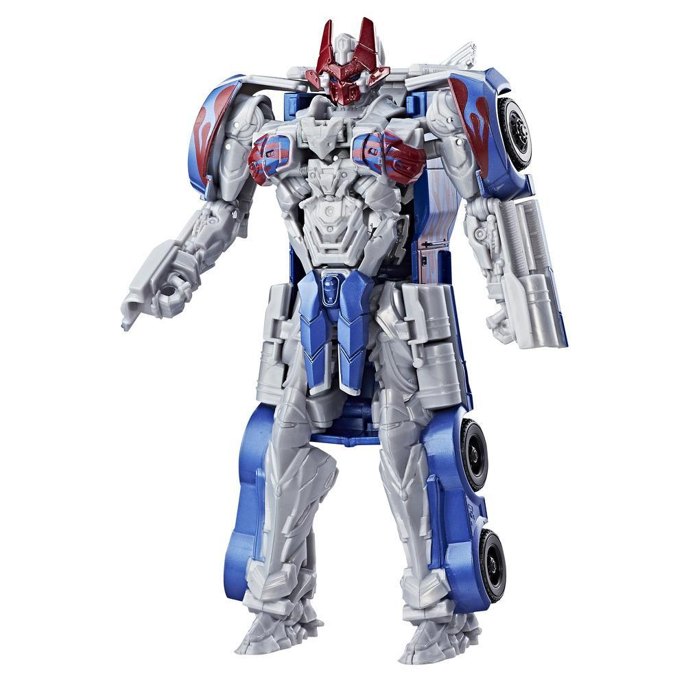 Transformers: The Last Knight -- Turbo Changer Armadura de caballero Optimus Prime