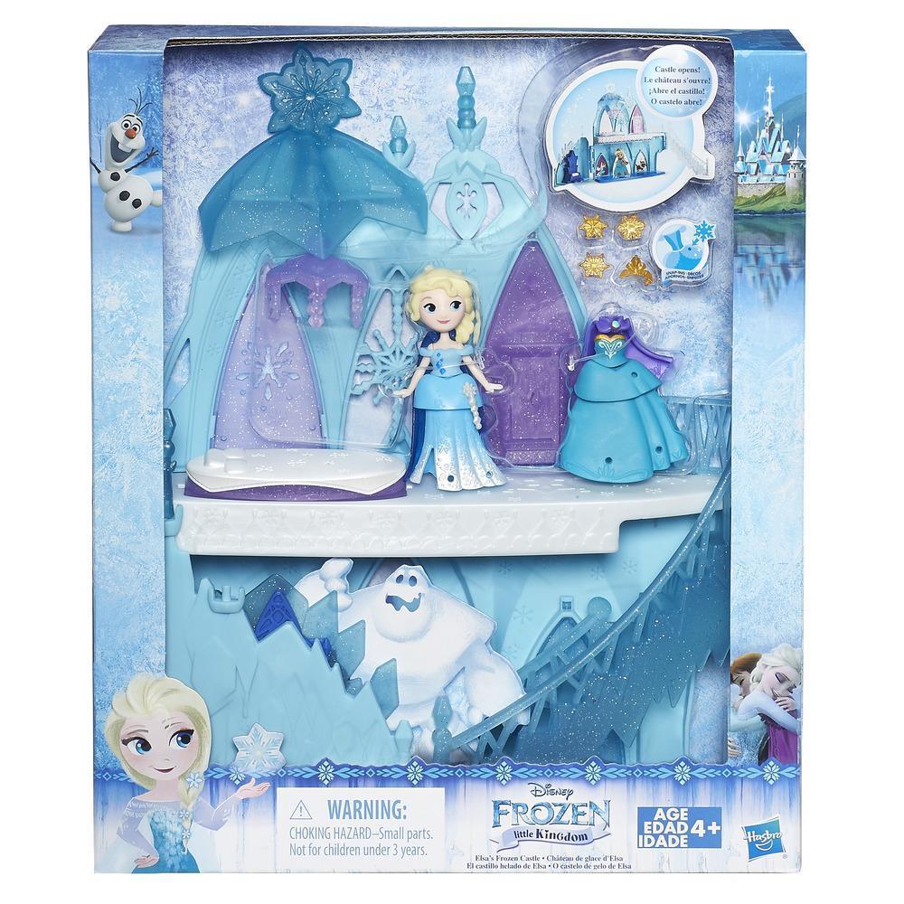El castillo helado de Elsa Pequeño Reino de Frozen Una aventura congelada de Disney