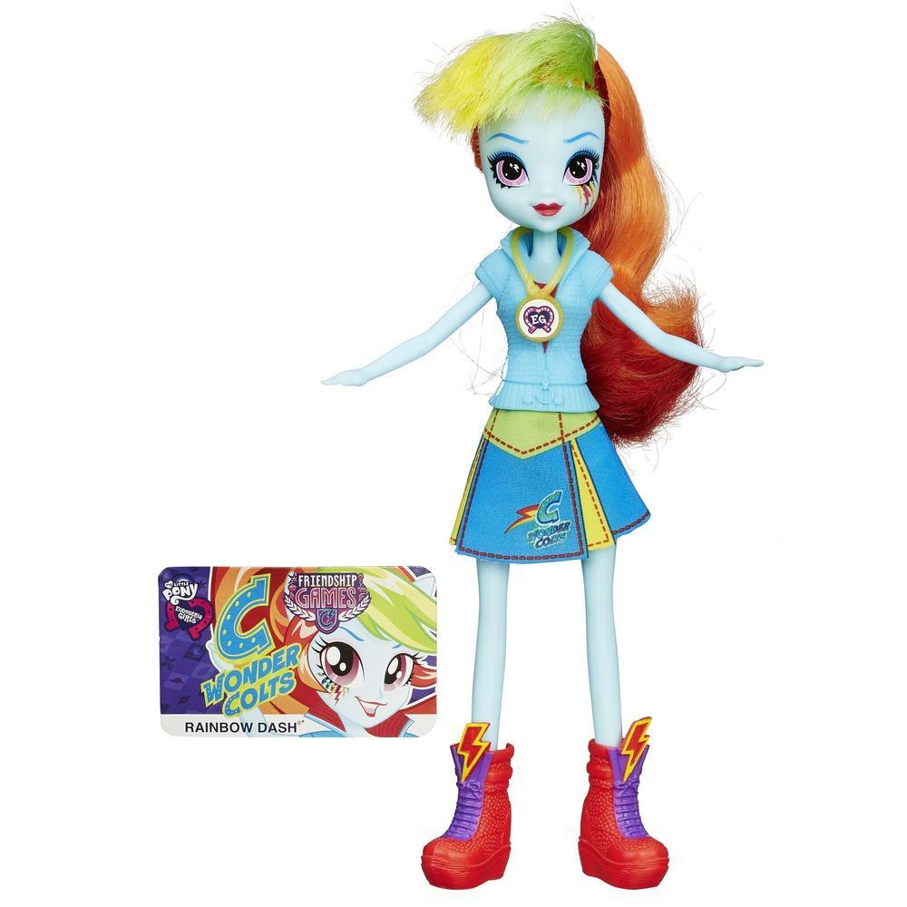 Muñeca My Little Pony Equestria Girls Rainbow Dash Friendship Games