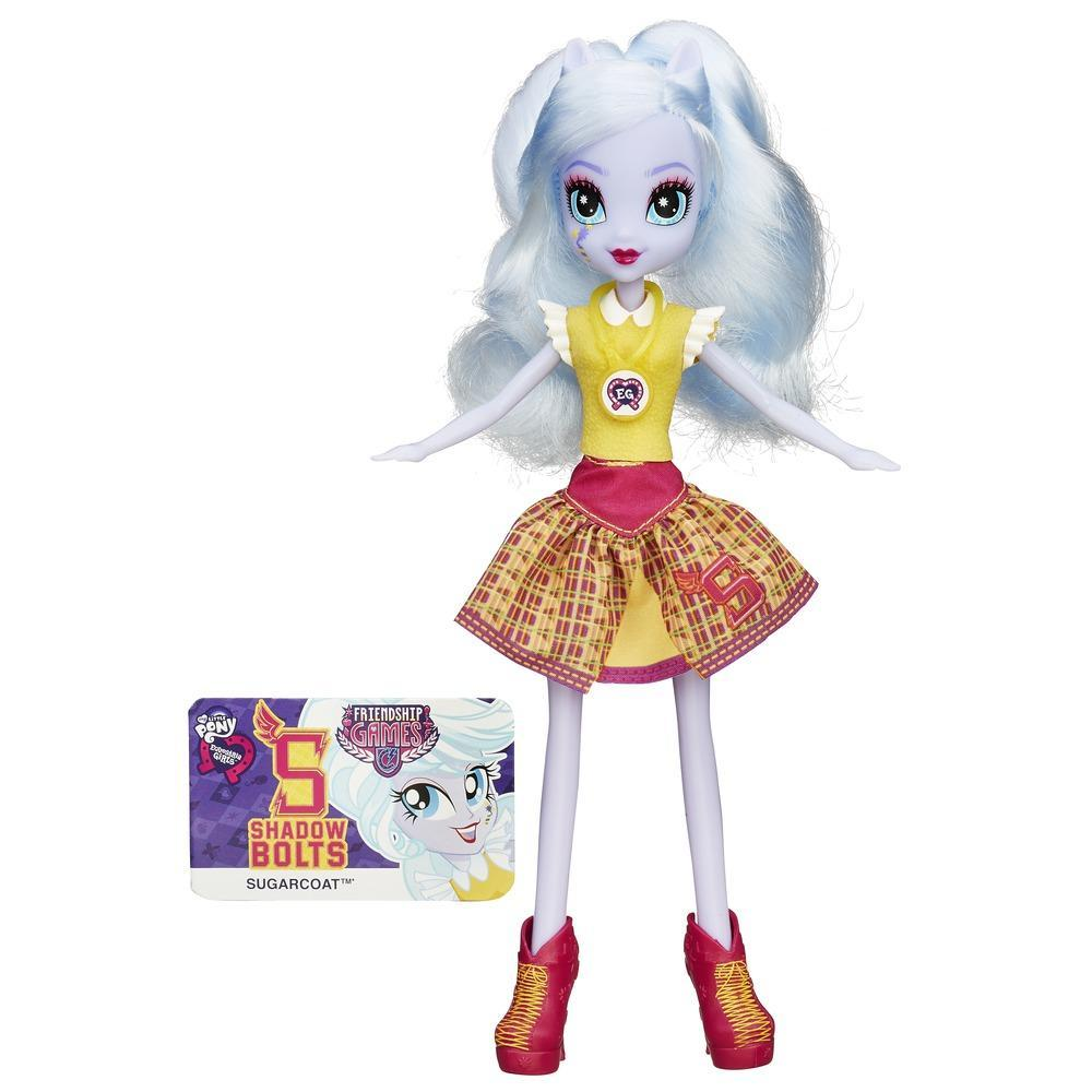 Muñeca My Little Pony Equestria Girls Sugarcoat Friendship Games