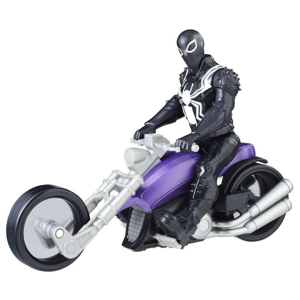 Marvel Spider-Man: Agent Venom con Moto Simbionte