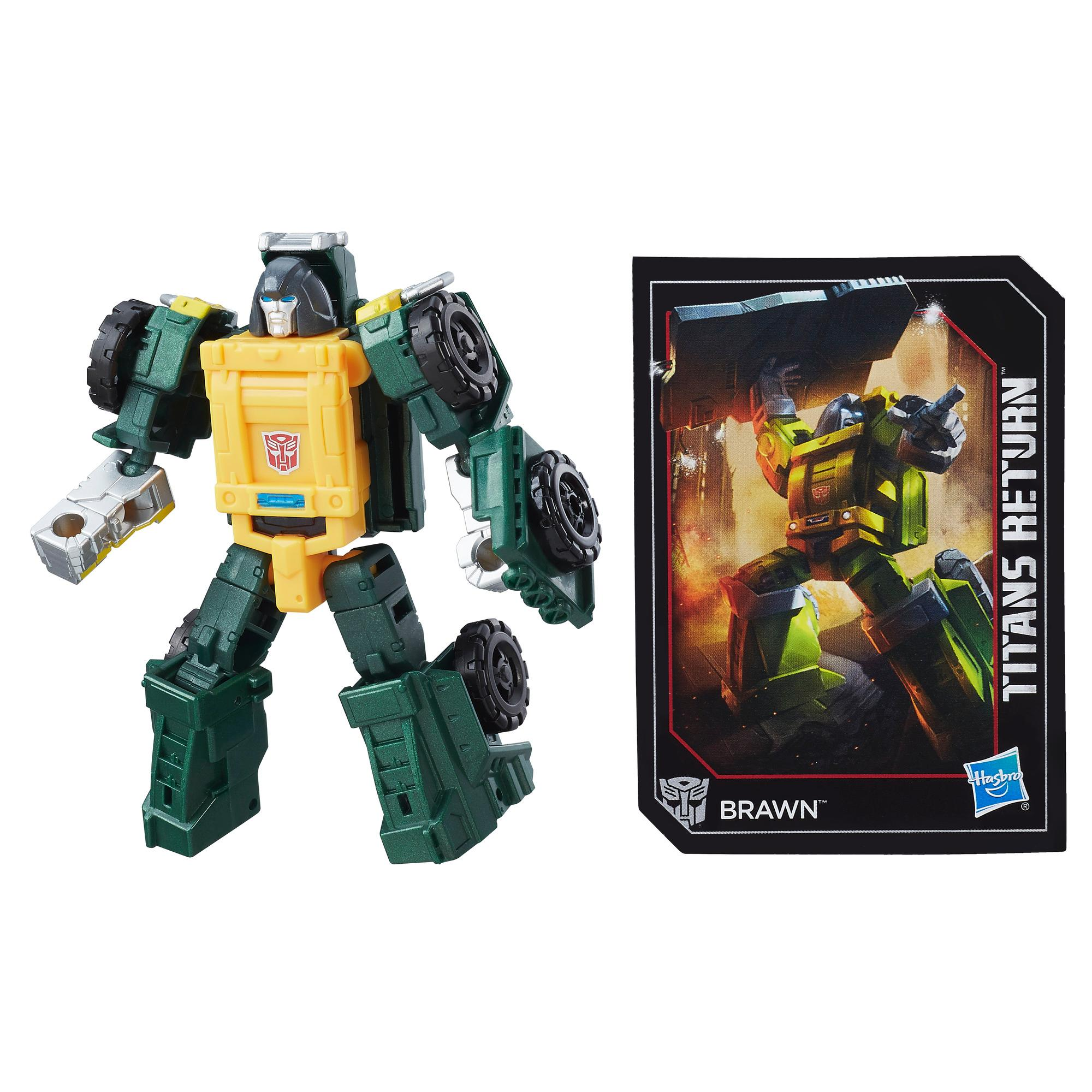 Transformers Generations Titans Return - Brawn clase leyendas