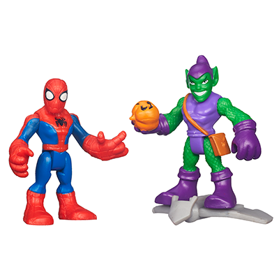 2 PACK:  SPIDERMAN Y GREEN GOBLIN