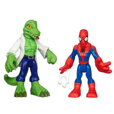 2 PACK: SPIDERMAN Y LIZARD