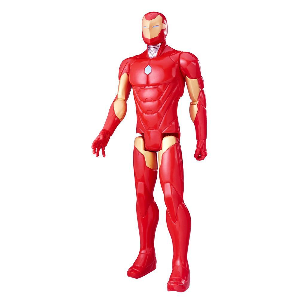 Marvel Titan Hero Series - Figura de Iron Man de 30 cm