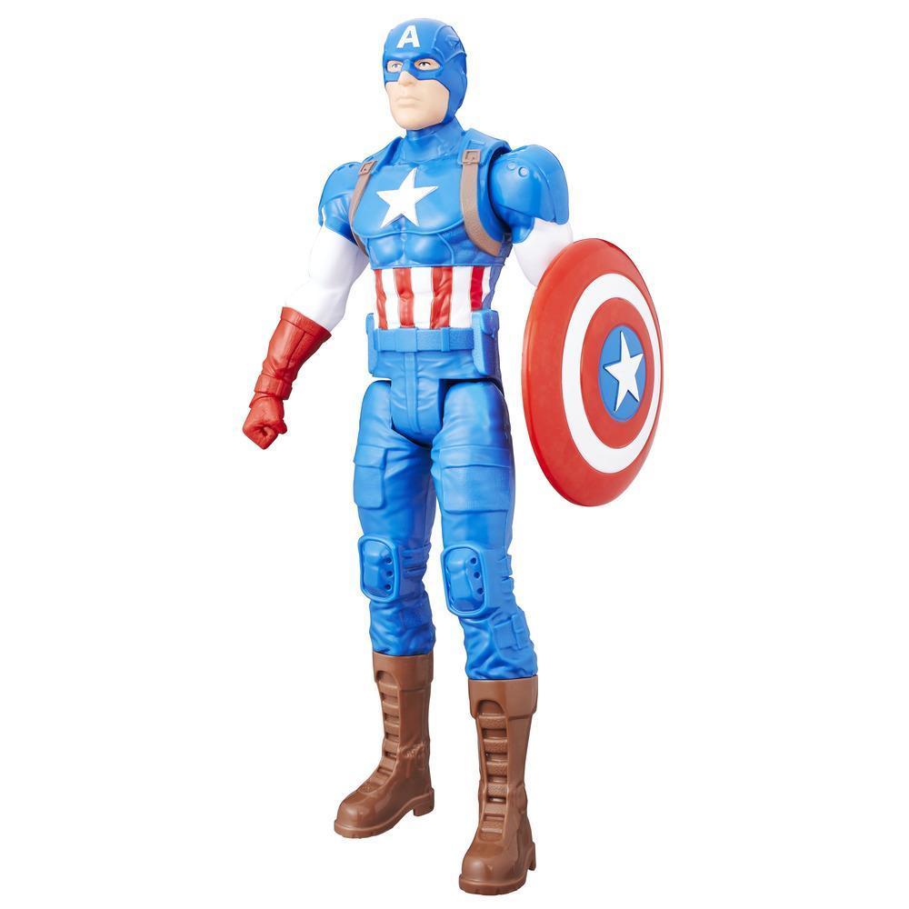 Marvel Titan Hero Series - Figura de Captain America de 30 cm