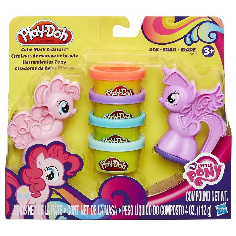 HERRAMIENTAS MY LITTLE PONY PLAY DOH