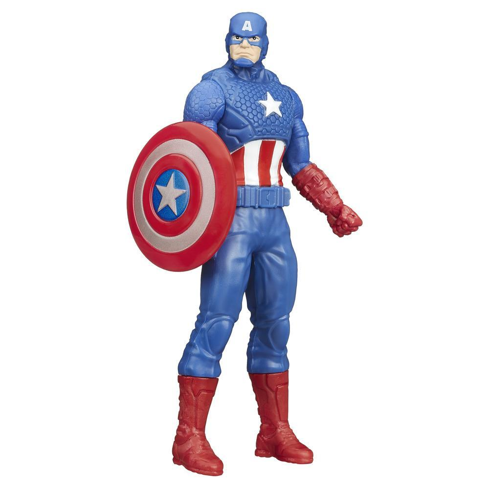 Marvel - Figura básica de Captain America de 15 cm