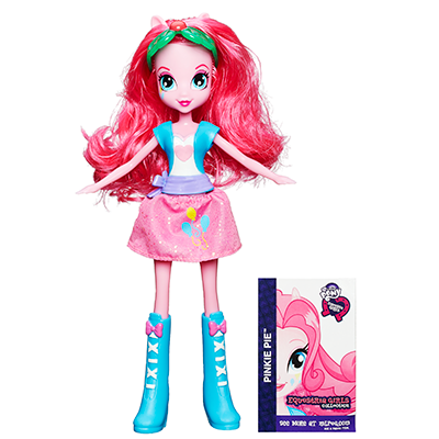 Equestria Girls Muñeca Básica Pinkie Pie
