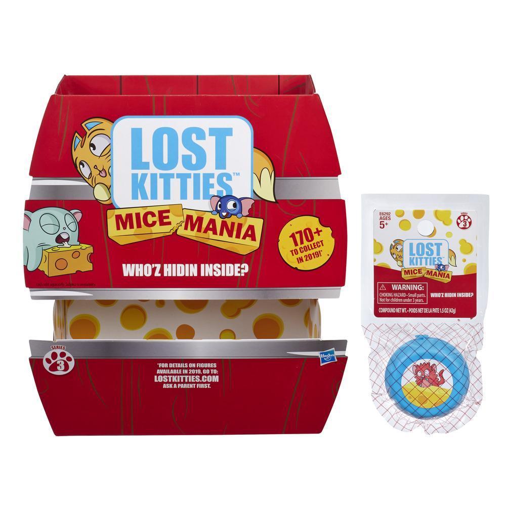 Lost Kitties Mice Mania - Mini ratón de juguete, serie 3