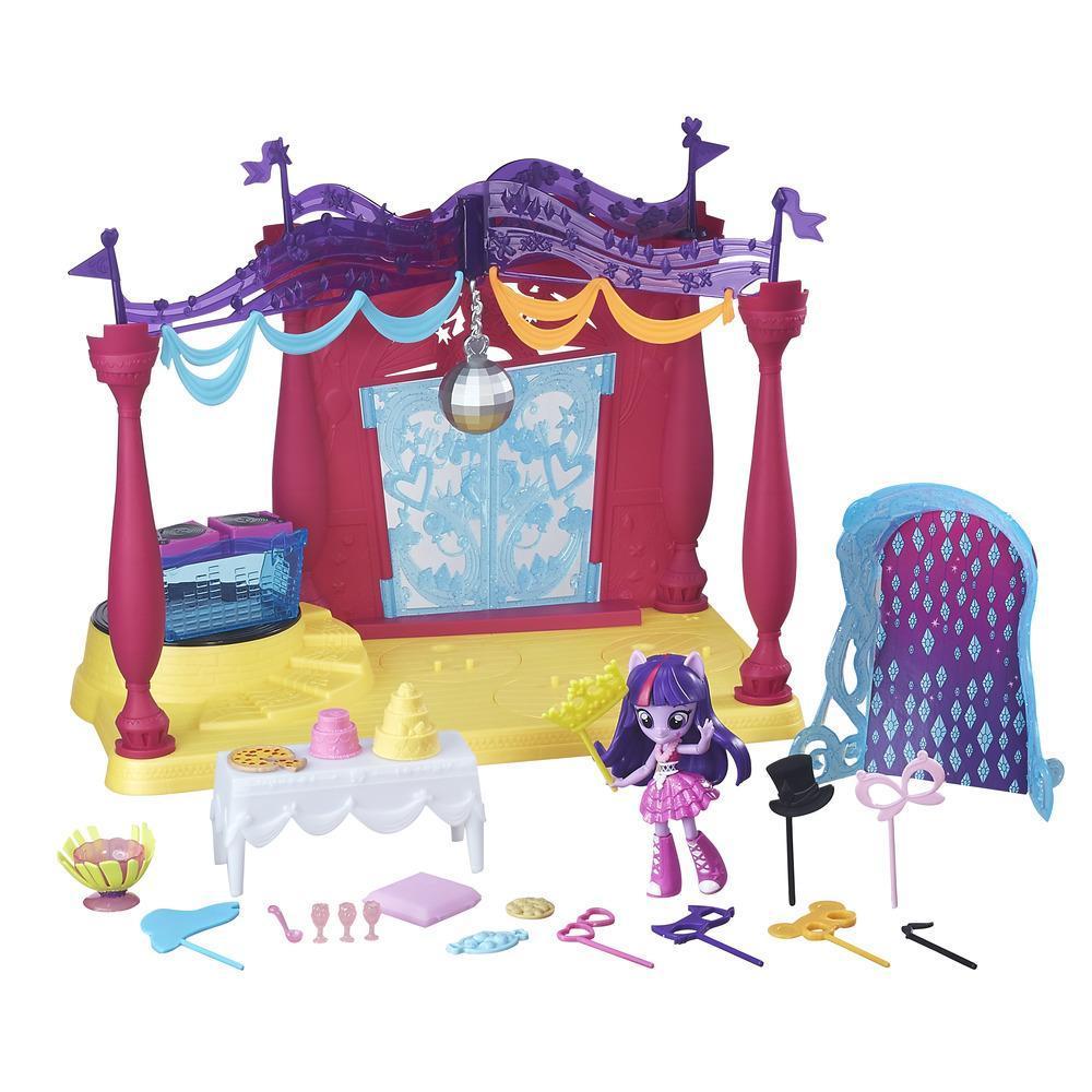 My Little Pony Equestria Girls Minis - Juego Baile en Canterlot High con muñeca