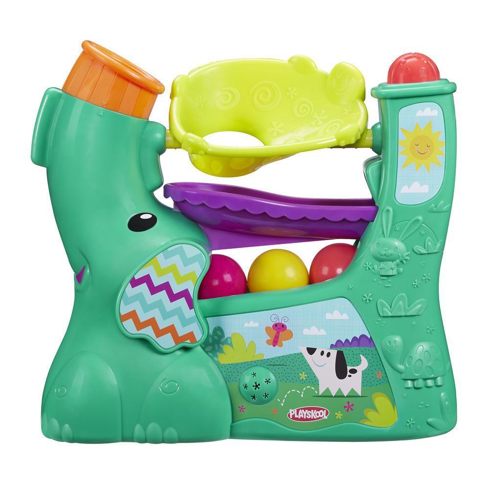 Playskool Elefante soplabolitas (Verde azulado)