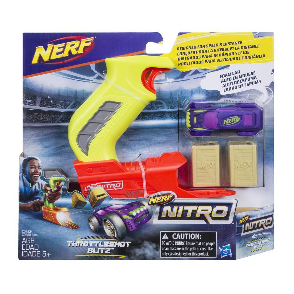Nerf Nitro ThrottleShot Blitz (lanzador verde)