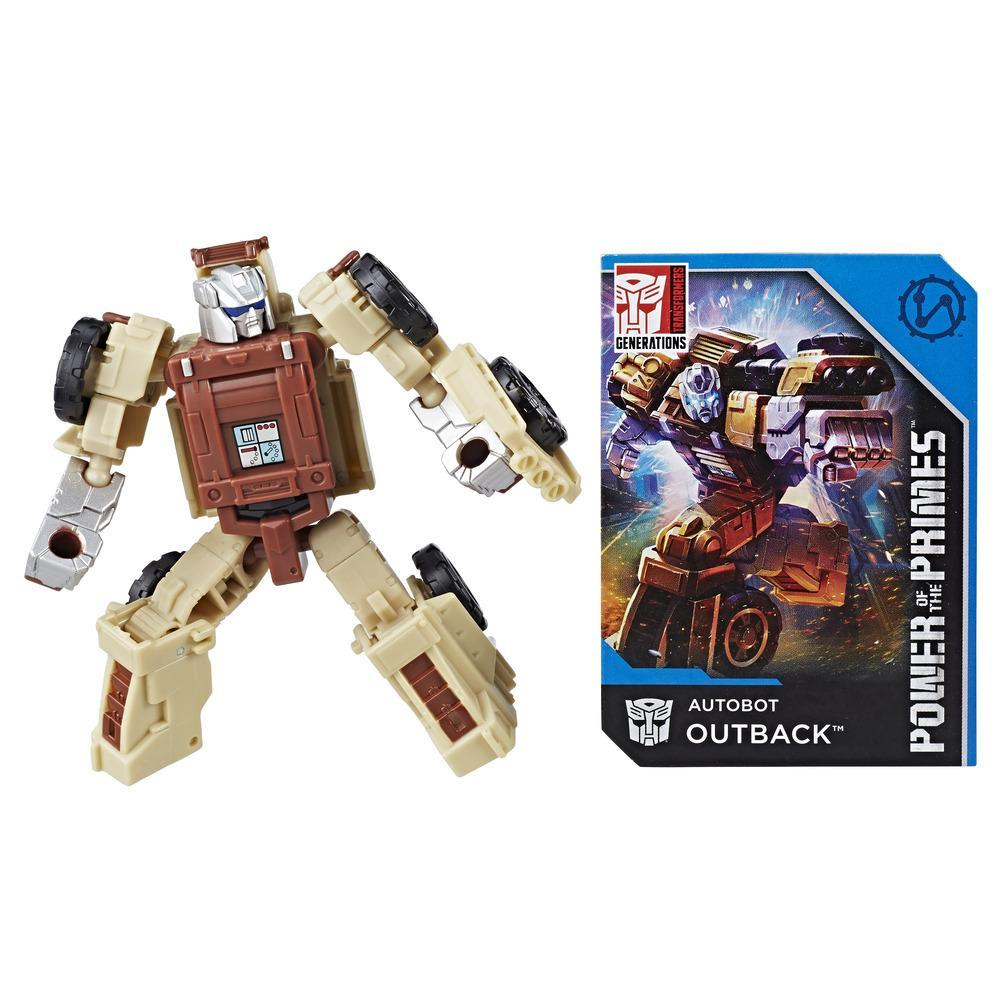 Transformers: Generations -  Poder de los Primes - clase leyendas - Autobot Outback