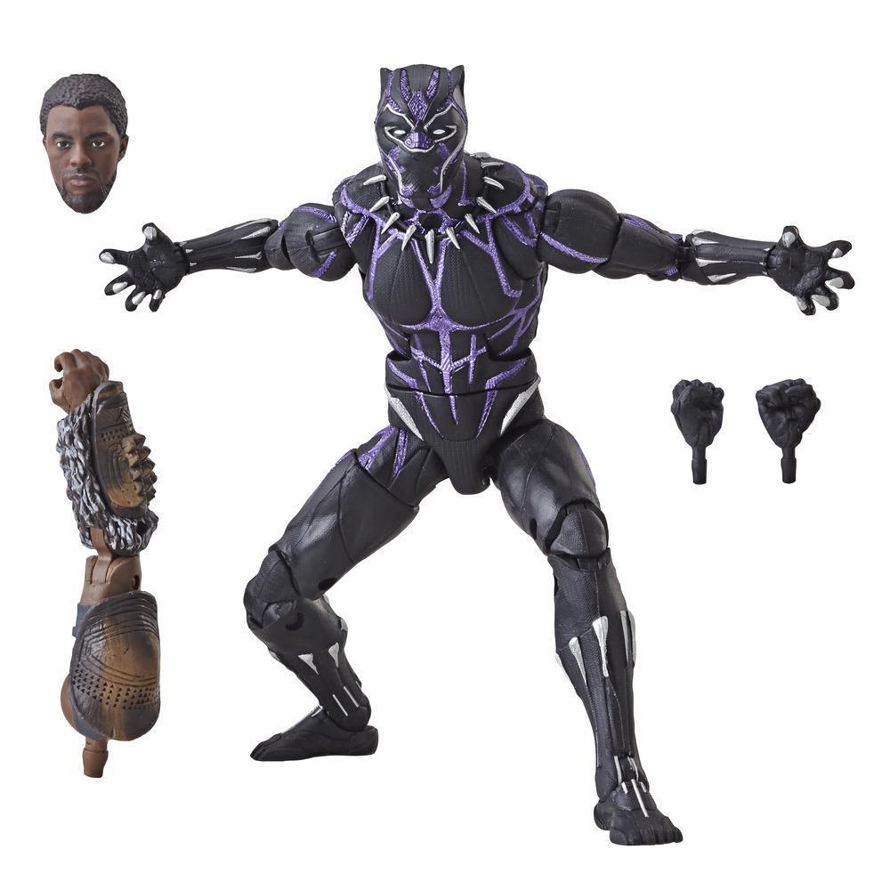 Marvel Legends Series - Avengers: Guerra del Infinito - Figura de Black Panther de 15 cm