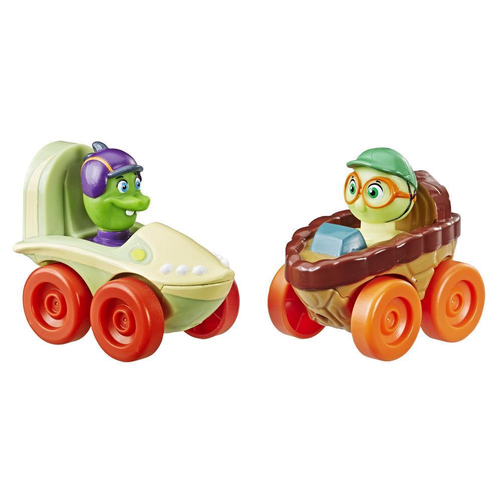 Top Wing - Paquete de 2 bólidos: Timmy Turtle y Rocco