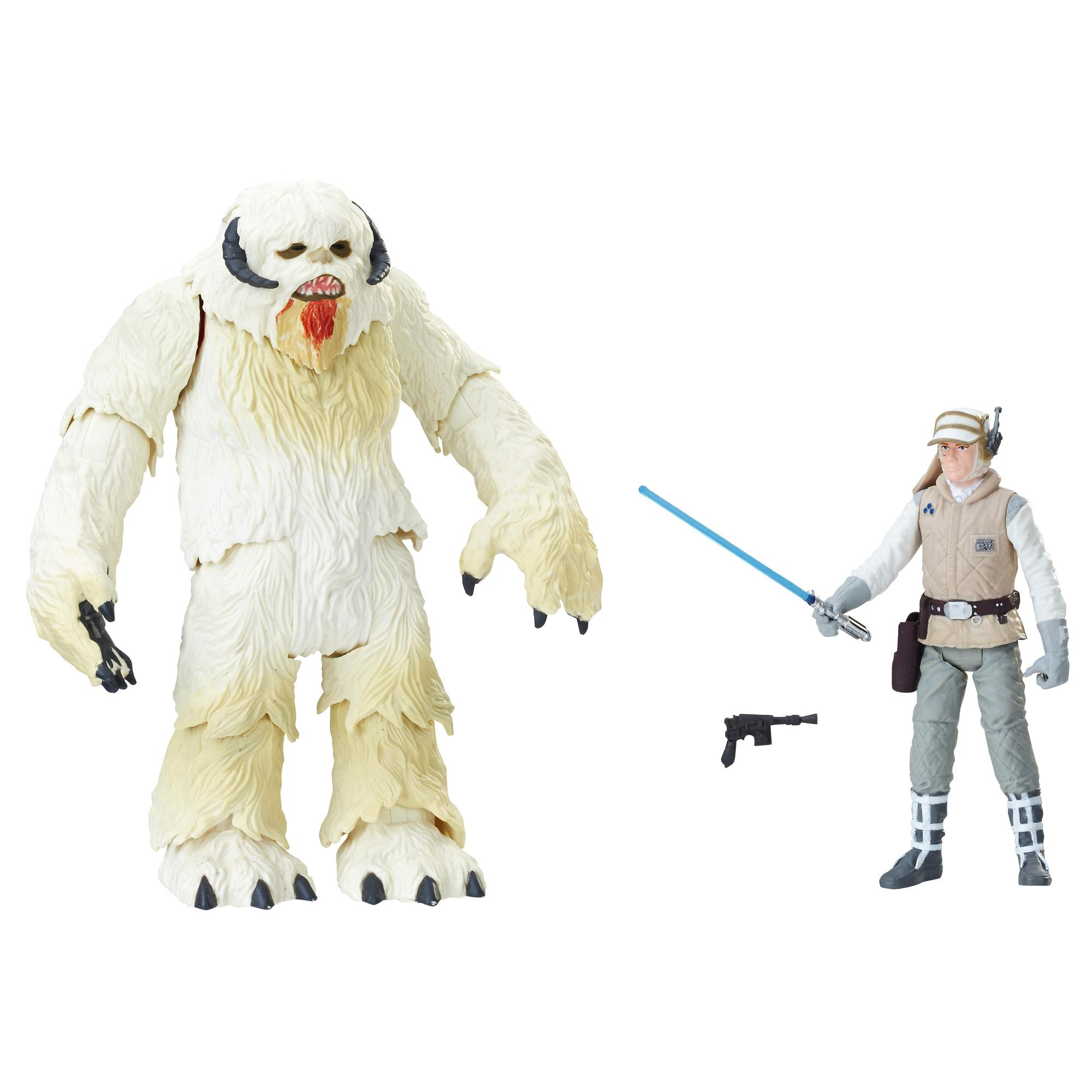 Star Wars Force Link 2.0 - Figuras de Wampa y Luke Skywalker (Hoth)