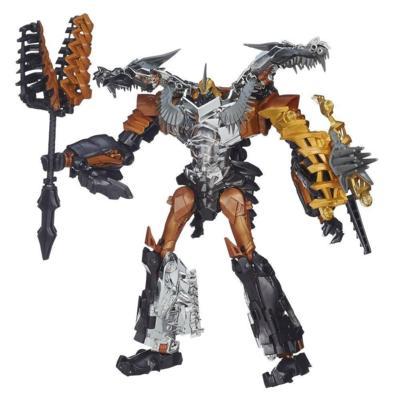 Figura de Grimlock clase Leader Generations de la Era de la Extinción de Transformers