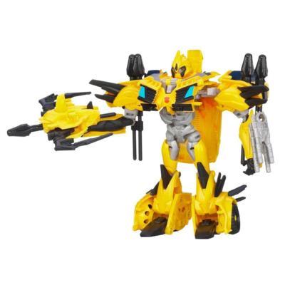 Figura Bumblebee de Clase Deluxe de Transformers Beast Hunters
