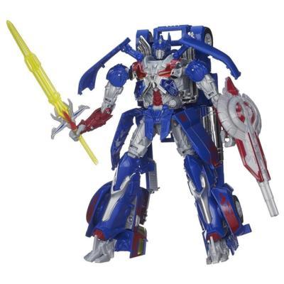 Figura de Optimus Prime clase Leader Generations de la Era de la Extinción de Transformers