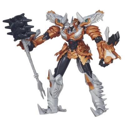 Figura de Grimlock clase Voyager Generations de la Era de la Extinción de Transformers