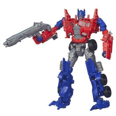 Figura de Optimus Prime Evasion Mode de clase Voyager Generations de la Era de Extinción de Transformers