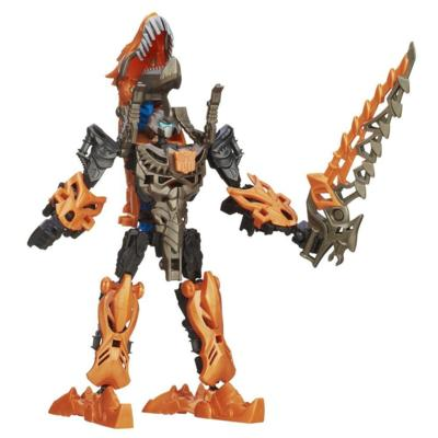Figura de acción armable de Grimlock de Bots para construir de la Era de la Extinción de Transformers