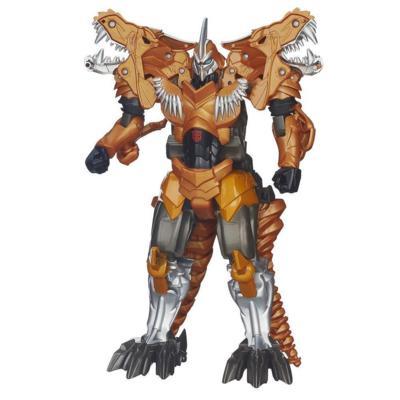 Figura de Grimlock de voltear y cambiar de la Era de la Extinción de Transformers