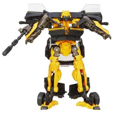 Figura de Bumblebee de clase Deluxe de alto octano Generations de la Era de Extinción de Transformers