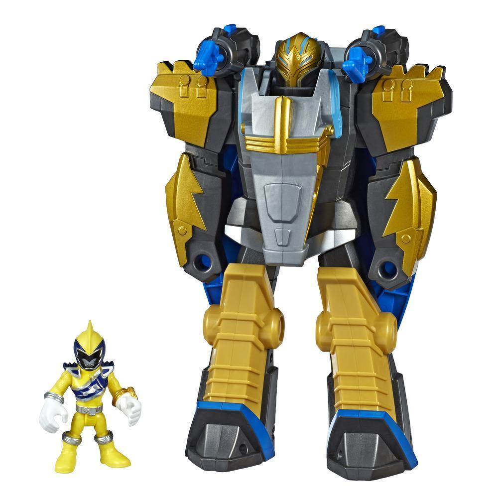 Playskool Heroes Power Rangers Morphin Zords -  Gold Ranger y Pterazord