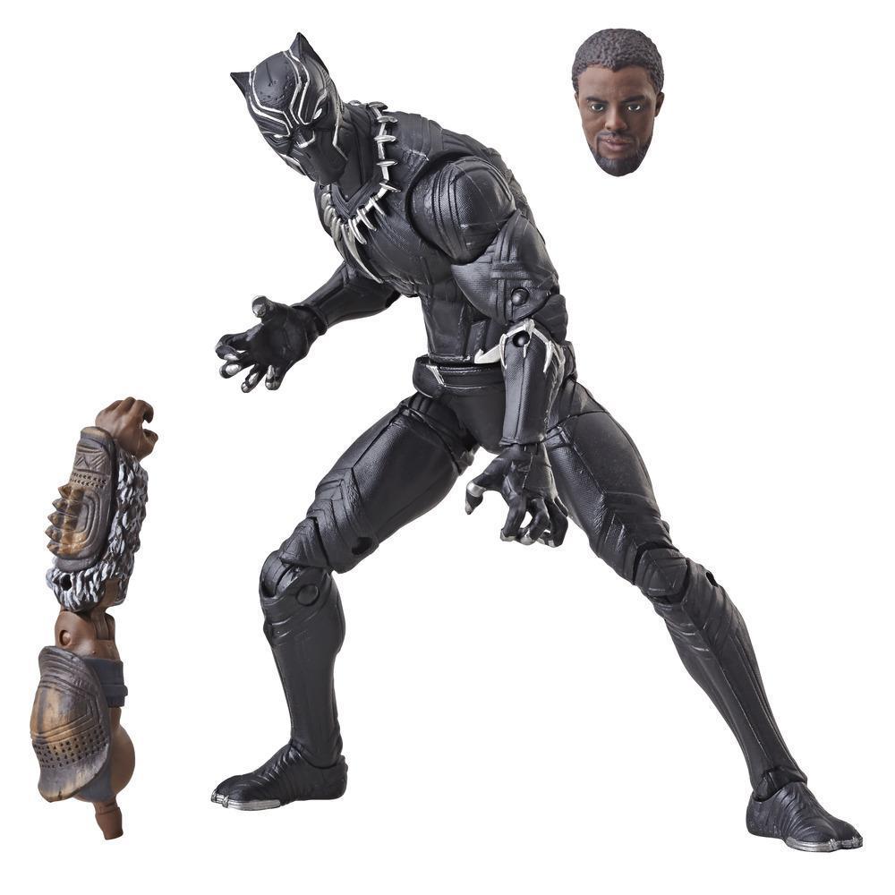 Marvel Legends Series Black Panther - Figura de Black Panther de 15 cm
