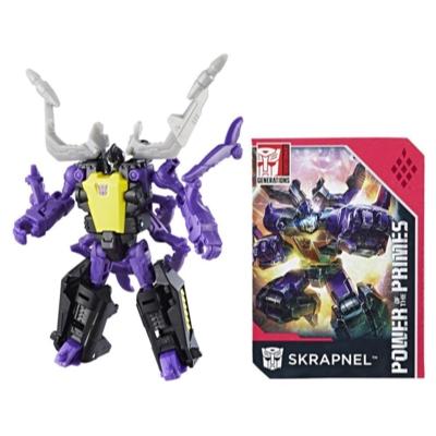Transformers: Generations -  Poder de los Primes - clase leyendas - Skrapnel