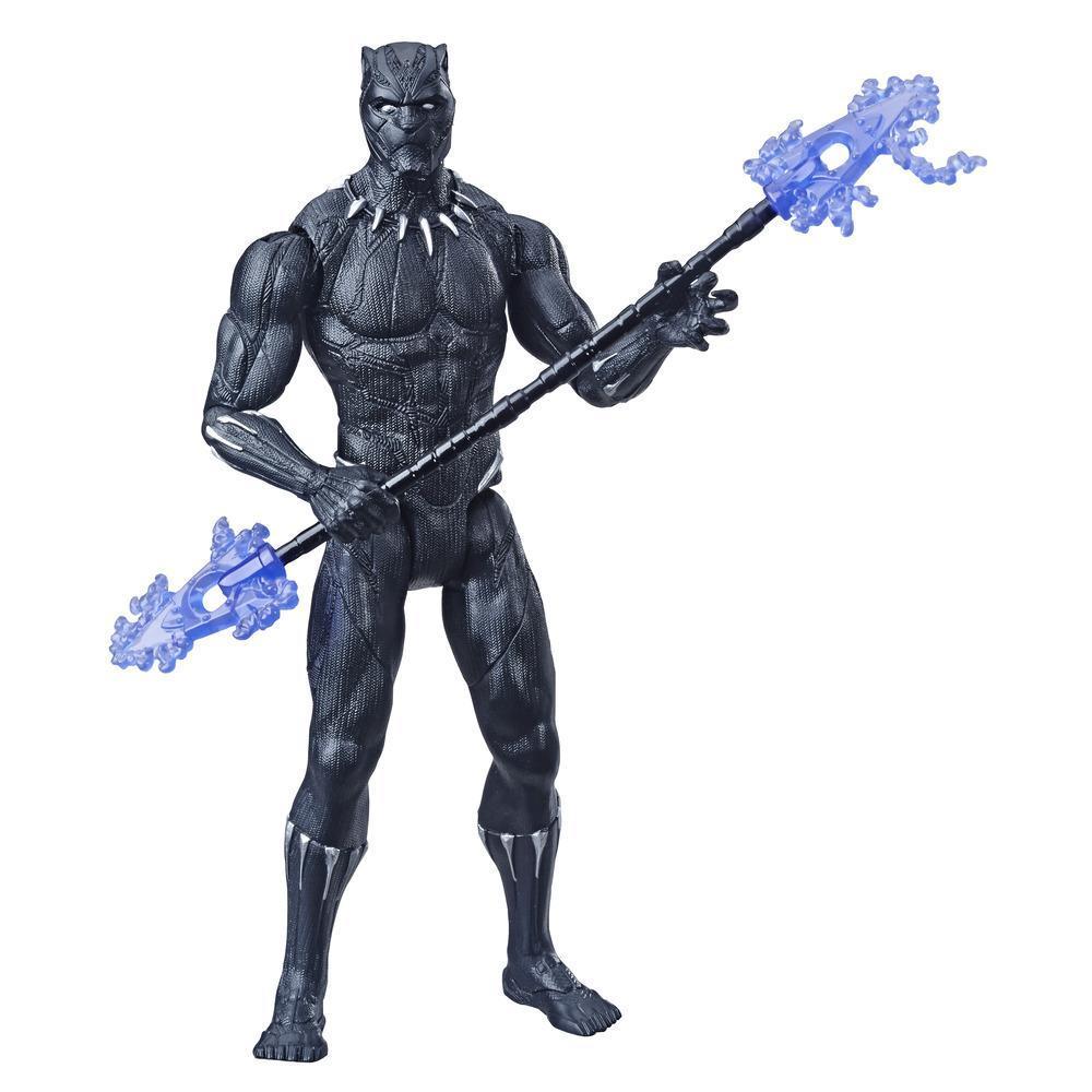 Marvel Avengers Black Panther - Figura de acción de juguete de superhéroe Marvel a escala de 15 cm